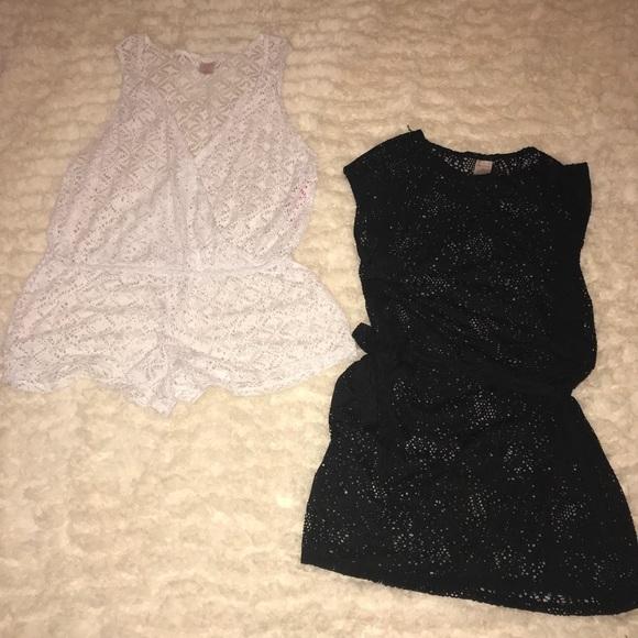 503a7f87f02c5 New women s beach coverup shorts dress 2 pcs M XL
